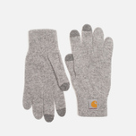 Carhartt WIP Touch Screen Gloves Grey Heather photo- 0