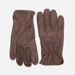 Мужские перчатки Filson Deerskin Brown фото- 0