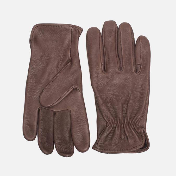 Filson Deerskin Gloves Brown