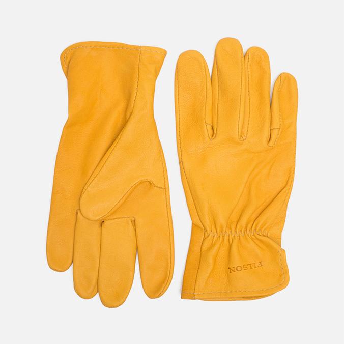 Мужские перчатки Filson Goatskin Tan
