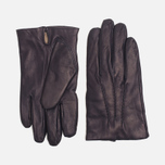 Мужские перчатки Gant Rugger Nappa Dark Blue фото- 0
