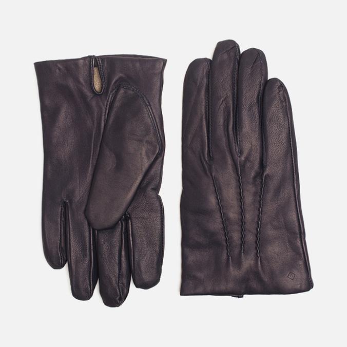 Мужские перчатки Gant Rugger Nappa Dark Blue
