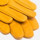 Мужские перчатки Gant Rugger Nappa Gold Yellow фото- 1