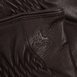 Мужские перчатки Hestra Deerskin Drivers Lined Dark Brown фото- 3