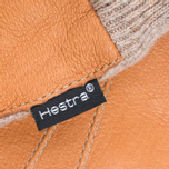 Перчатки Hestra Deerskin Sandwich Brown фото- 1