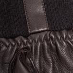 Перчатки Hestra Deerskin Sandwich Dark Brown фото- 2