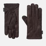 Мужские перчатки Hestra Matthew Dark Brown фото- 0