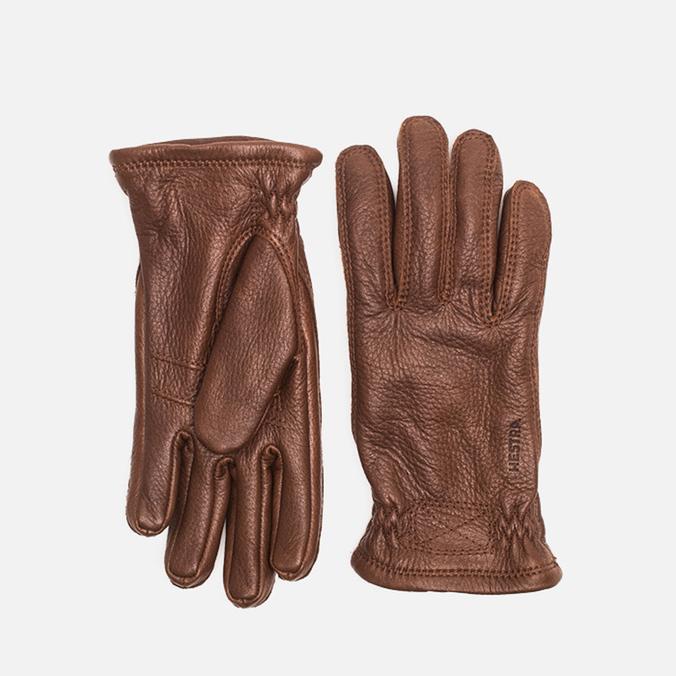 Мужские перчатки Hestra Sarna Brown