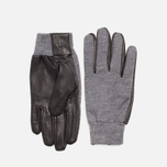 Мужские перчатки Lacoste Gloves Wool Leather Grey/Black фото- 0