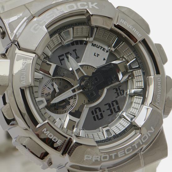 Наручные часы CASIO G-SHOCK GM-110SCM-1AER Skeleton Series Silver/Clear