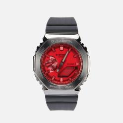 Наручные часы CASIO G-SHOCK GM-2100B-4AER Metal Covered Navy/Grey/Red