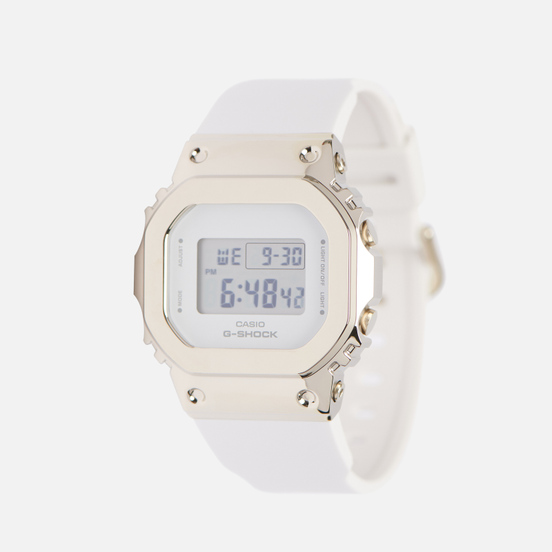 Наручные часы CASIO G-SHOCK GM-S5600G-7ER White/Gold