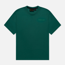Мужская футболка adidas Originals x Pharrell Williams Basics Dark Green