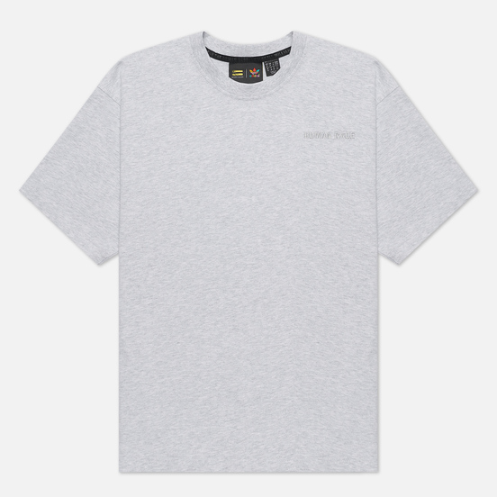 Мужская футболка adidas Originals x Pharrell Williams Basics Light Grey Heather