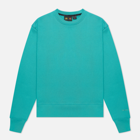 Мужская толстовка adidas Originals x Pharrell Williams Basics Crew True Green