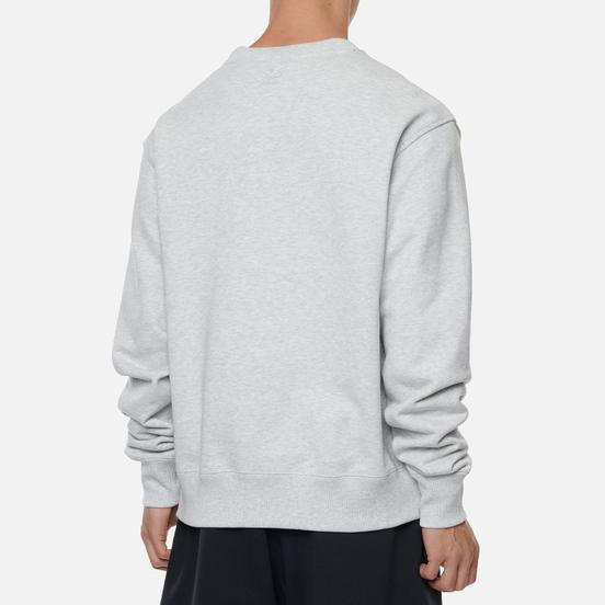 Мужская толстовка adidas Originals x Pharrell Williams Basics Crew Light Grey Heather