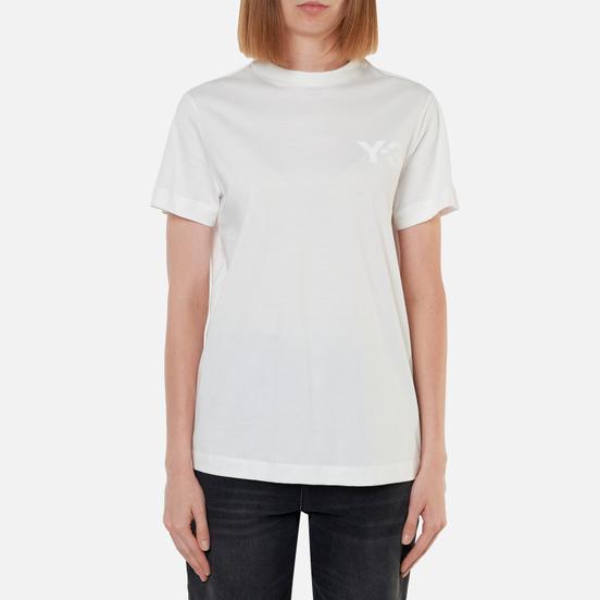 Женская футболка Y-3 Classic Logo Core White