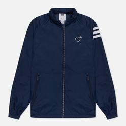 Мужская куртка ветровка adidas Originals x Human Made Embroidery Logo Windbreaker Collegiate Navy