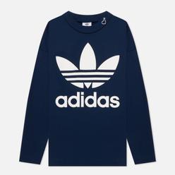 Мужская толстовка adidas Originals x Human Made Logo Collegiate Navy