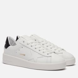 Мужские кроссовки Golden Goose Purestar Leather White/Black