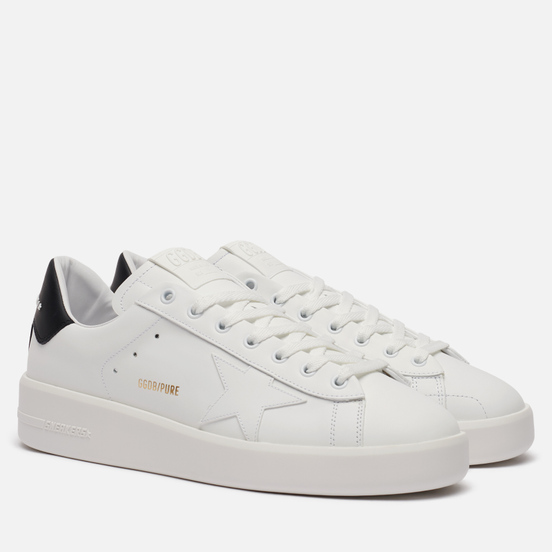 Мужские кроссовки Golden Goose Purestar Leather White/Black