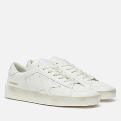 Мужские кроссовки Golden Goose Stardan Leather Optic White