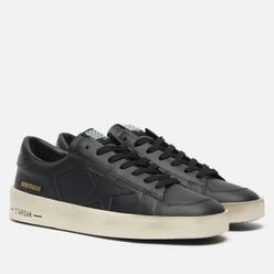 Мужские кроссовки Golden Goose Stardan Leather Black