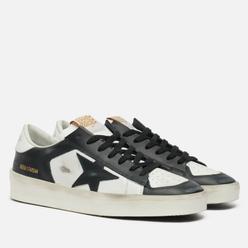 Мужские кроссовки Golden Goose Stardan Leather/Leather Star White/Black
