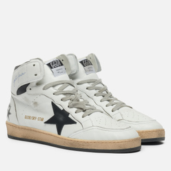 Мужские кроссовки Golden Goose Sky Star Nappa/Serigraph Leather Star White/Black