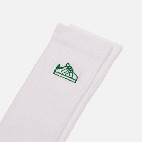 Носки adidas Originals Stan Smith Shoe White