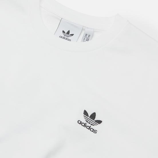 Мужская футболка adidas Originals Back And Front Trefoil Boxy White