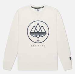 Мужская толстовка adidas Spezial Iconic Crew Neck Off White