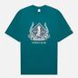 Мужская футболка Reebok Classic Golf Graphic Midnight Pine фото - 0