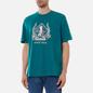 Мужская футболка Reebok Classic Golf Graphic Midnight Pine фото - 2
