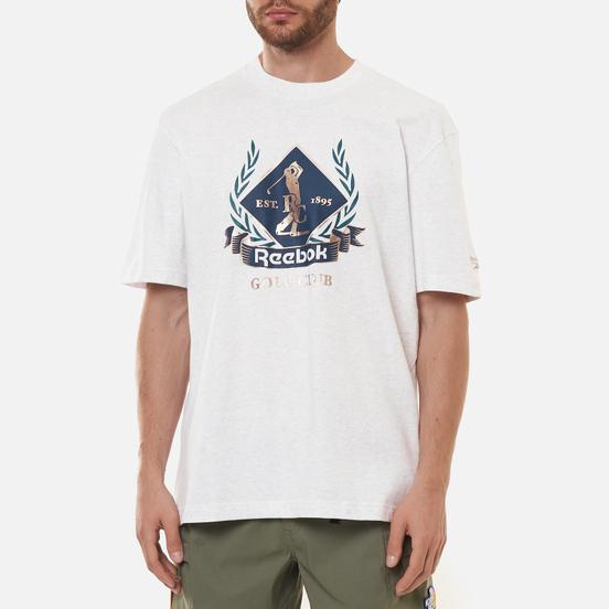 Мужская футболка Reebok Classic Golf Graphic White Melange