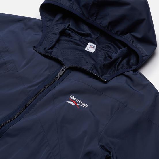 Мужская куртка ветровка Reebok Classic Vector Vector Navy