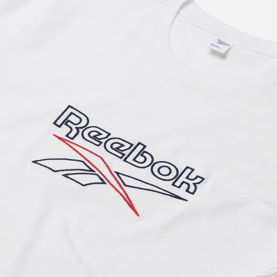 Мужская футболка Reebok Classic Vector White/Vector Navy/Vector Red