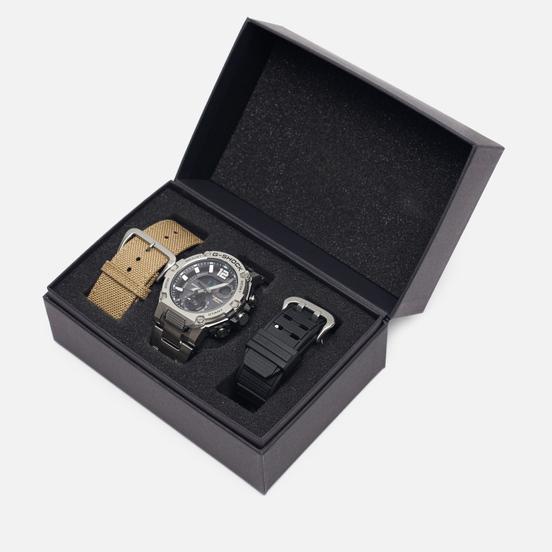 Наручные часы CASIO G-SHOCK GST-B300E-5AER G-STEEL Silver/Black/Beige