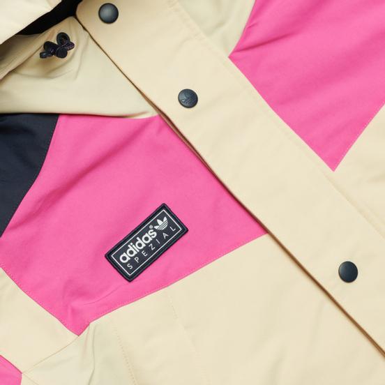 Мужская куртка adidas Originals Aldrington SPZL Art 1 Cream White/Scarlet/Night Navy