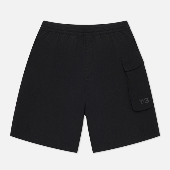 Мужские шорты Y-3 Utility Swim Mid Length Black