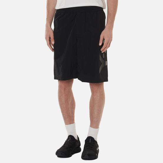 Мужские шорты Y-3 Large Logo Swim Mid Lenght Black/Core White