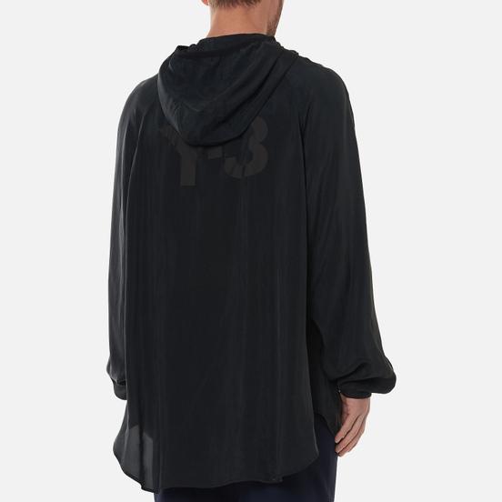 Мужская куртка ветровка Y-3 Chapter 3 Sanded Cupro Hooded Off Black