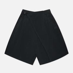 Мужские шорты Y-3 Chapter 3 Sanded Cupro Off Black