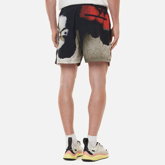 Мужские шорты Y-3 All Over Print Swim All Over Print/Black/Core White