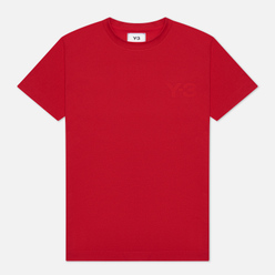 Женская футболка Y-3 Classic Logo Scarlet