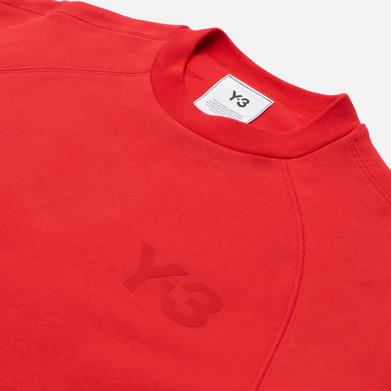 Женская толстовка Y-3 Classic Chest Logo Crew Neck Scarlet