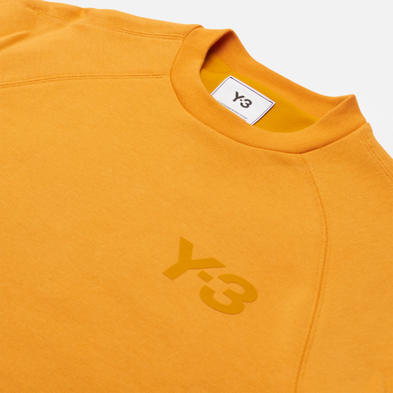 Женская толстовка Y-3 Classic Chest Logo Crew Neck Craft Gold