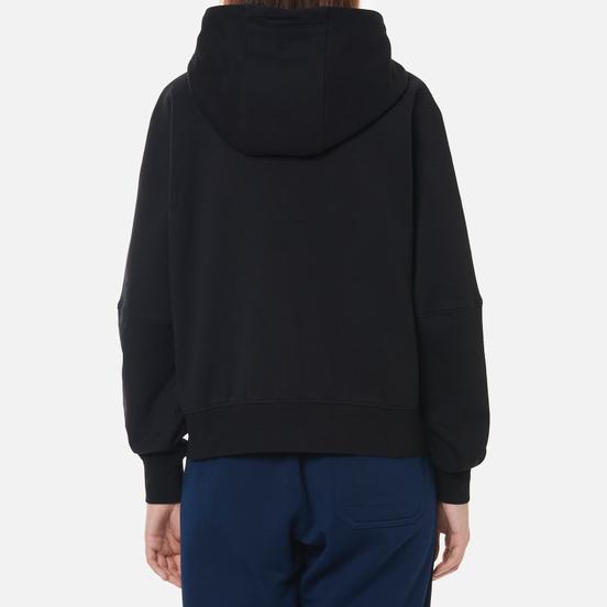 Женская толстовка Y-3 Classic Logo Full Zip Hoodie Black