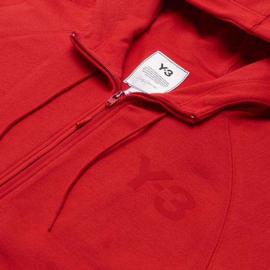 Женская толстовка Y-3 Classic Logo Full Zip-Hoodie Scarlet