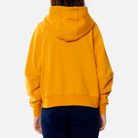 Женская толстовка Y-3 Classic Logo Full Zip-Hoodie Craft Gold